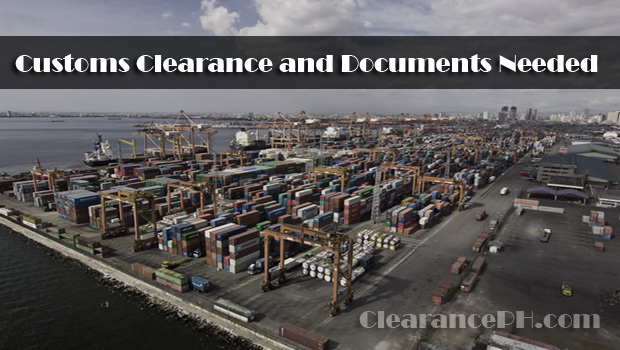 clearancePH.com-Customs-Clearance-and-Documents-Needed