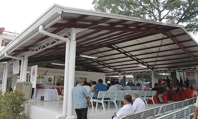 CCCI turns over waiting area to NBI