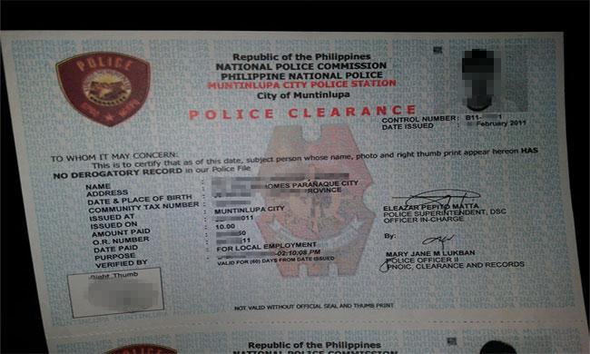 Police Clearances Burdens Jobs Applicants